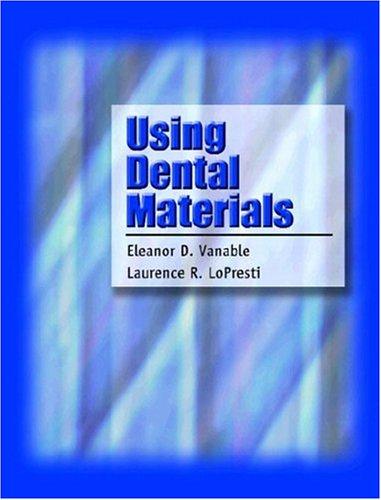 Using Dental Materials 9780838515761