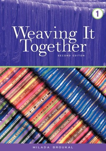 Weaving It Together 1 9780838442210