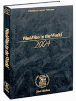 Who's Who in the World, 2005: 9780837911335