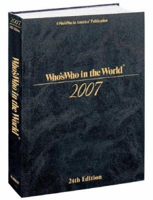 Who's Who in the World 9780837911373