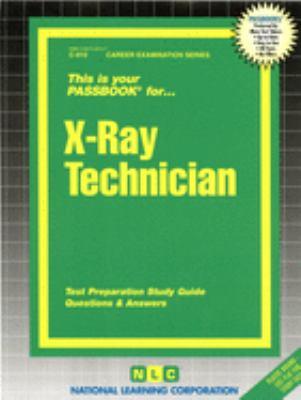 X-Ray Technician 9780837309101