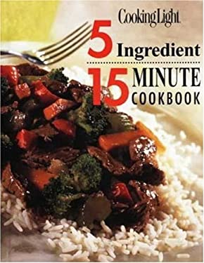 5 Ingredient 15 Minute Cookbook 9780848718527