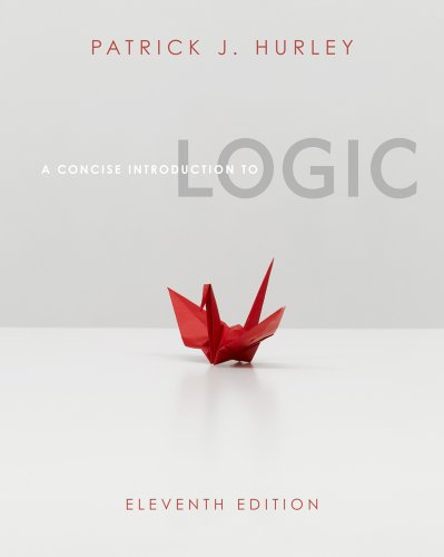 A Concise Introduction to Logic 9780840034175