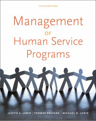 Management of Human Service Programs 9780840034274