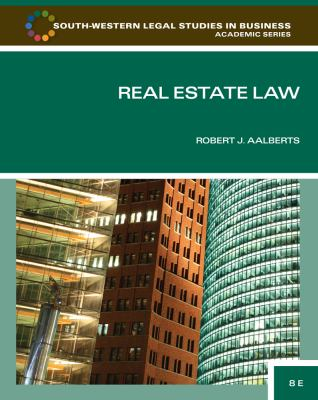 Real Estate Law 9780840053596