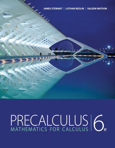 Precalculus: Mathematics for Calculus 9780840068071