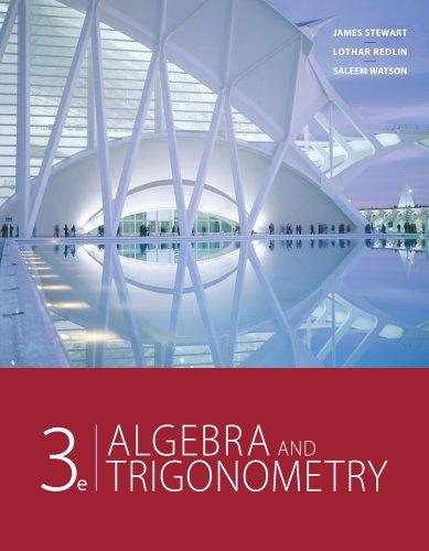 Algebra and Trigonometry 9780840068132