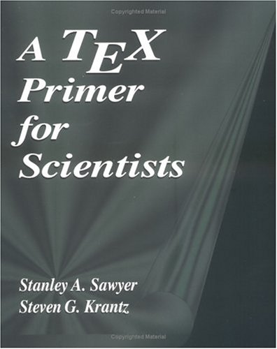 A Tex Primer for Scientists 9780849371592