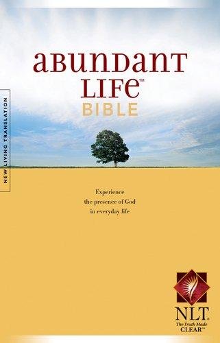 Abundant Life Bible-Nlt 9780842384926