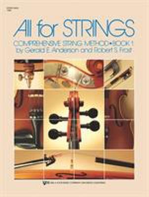 All for Strings: Conductor Score: String Bass 9780849732256