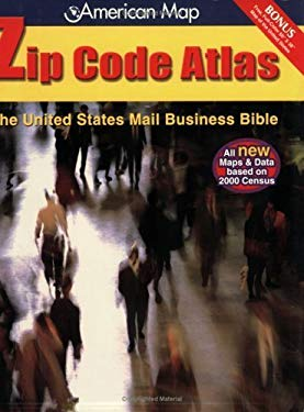 American Map United States Zip Code Atlas