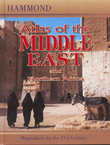 Atlas of the Middle East and Northern Africa 9780843709117