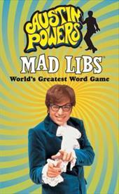 Austin Powers Mad Libs 3696387