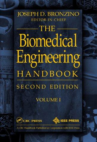 Biomedical Engineering Handbook, Volume I 9780849304613