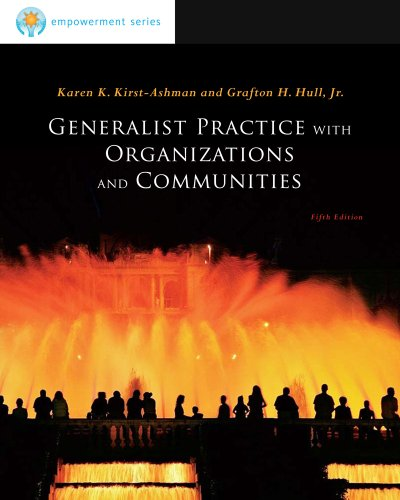 Generalist Practice with Organiz Ations and Communities: Brooks/Cole Empowerment Series 9780840033741