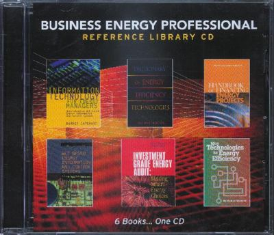 Business Energy Professional Reference Library CD 9780849394003