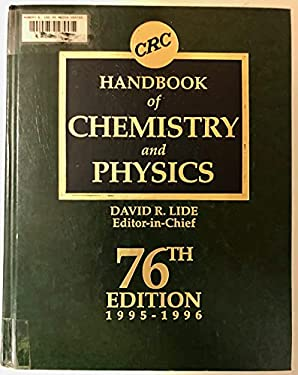 CRC Handbook of Chemistry and Physics - 76th Edition