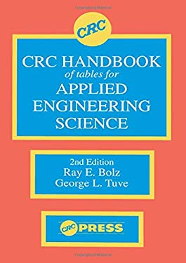 CRC Handbook of Tables for Applied Engineering Science 9780849302527