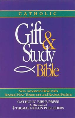 Catholic Gift & Study Bible-Nab 9780840713599