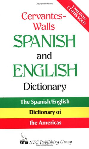 Cervantes-Walls Spanish and English Dictionary 9780844279732