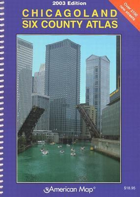 Chicagoland Six County Atlas 9780841693913