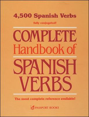 Complete Handbook of Spanish Verbs 9780844276342