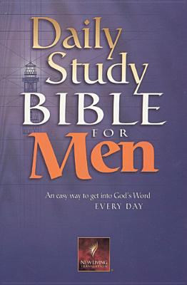 Daily Study Bible for Men-Nlt 9780842333306