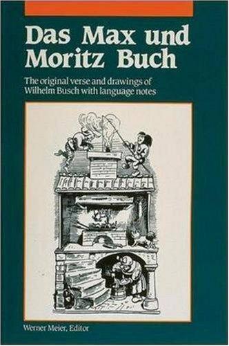 Das Max Und Moritz Buch 9780844222523