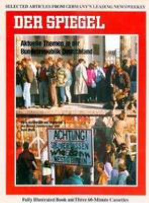 Der Spiegel, Aktuelle Themen in Der Bundesrepublik Deutschland [With Paperback] 9780844222813