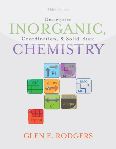 Descriptive Inorganic, Coordination, and Solid-State Chemistry 9780840068460