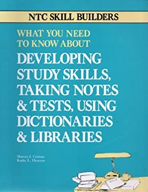 Developing Study Skills, Taking Notes and Tests, Using... 9780844251752