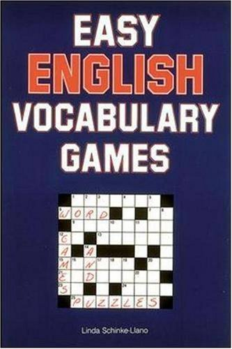 Easy English Vocabulary Games 9780844274157
