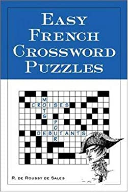 Easy French Crossword Puzzles 9780844213309