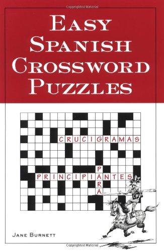 Easy Spanish Crossword Puzzles 9780844272443