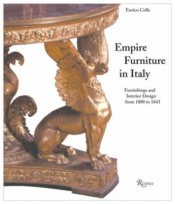 Empire Furniture in Italy 9780847824076