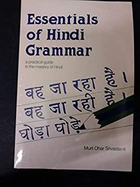 Essentials of Hindi Grammar 9780844285412
