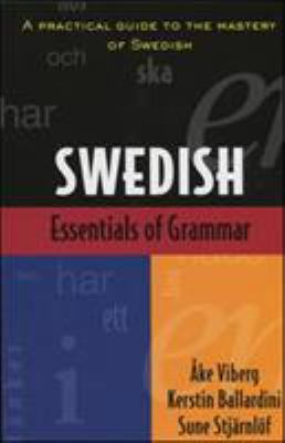 Essentials of Swedish Grammar 9780844285399