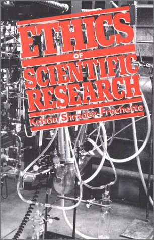 Ethics of Scientific Research 9780847679409