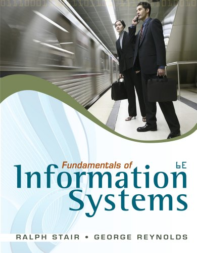 Fundamentals of Information Systems 9780840062192