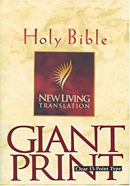 Giant Print Bible-Nlt 9780842333924