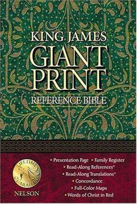 Giant Print Reference Bible-KJV 9780840717306