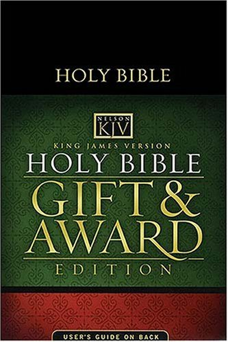 Gift and Award Bible-KJV 9780840726858