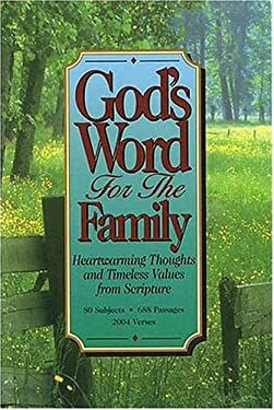 God's Word for the Family 9780849951466