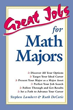 Great Jobs for Math Majors 9780844264226