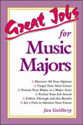 Great Jobs for Music Majors 9780844247458