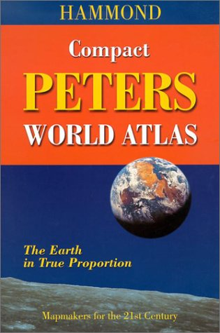 Hammond Compact Peters World Atlas: The Earth in True Proportion 9780843718324