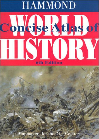 Hammond Concise Atlas of World History 9780843717501