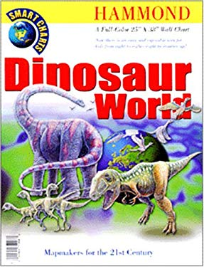Hammond Dinosaur World Wall Chart 9780843719086