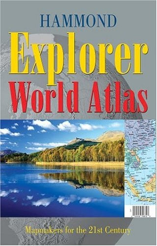 Hammond Explorer World Atlas 9780843708721