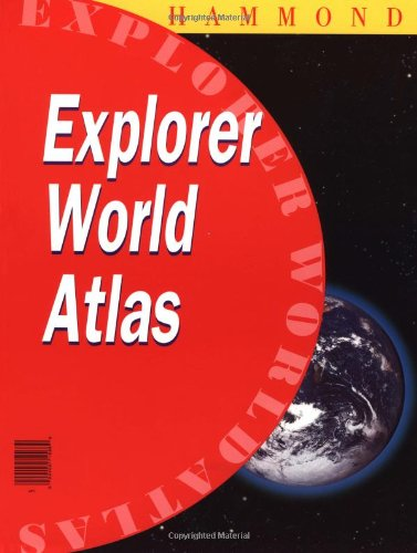 Hammond Explorer World Atlas 9780843713572